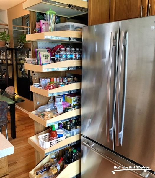 Custom Roll Out Shelves Contractor in Denver